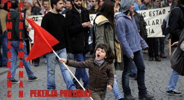 Pemogokan dan Perlawanan Pekerja Portugal