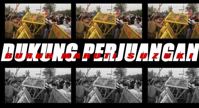 Petisi - Dukung Perjuangan Buruh Maruti Suzuki India